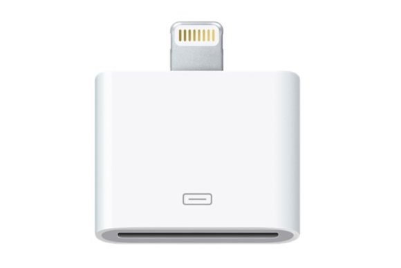 hands on with apple 39 s lightning to 30 pin adapters macworld. Black Bedroom Furniture Sets. Home Design Ideas