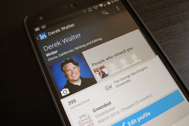 LinkedIn redesigns Android, iOS apps with new profiles
