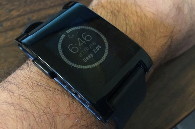 Hands-on: Pebble gets a boost