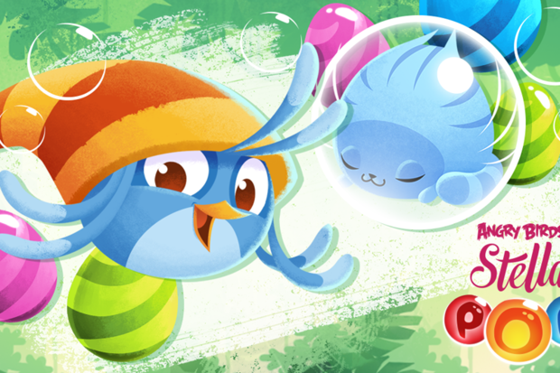 Freemium Field Test: Angry Birds Stella Pop is a slick-but-typical bubble-bursting clone