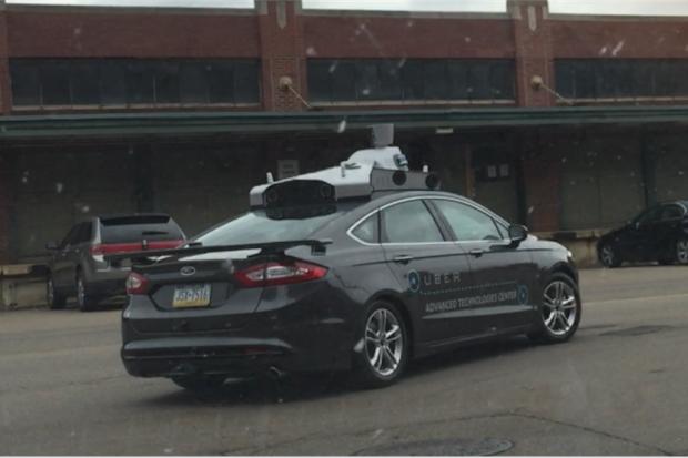 Uber's first autonomous car