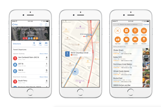 Hands-on with Maps in iOS 9: Introducing public transit and more accurate data