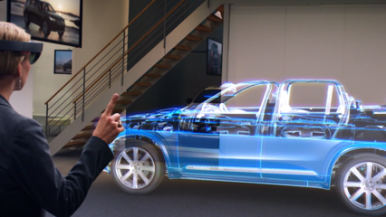 Volvo wants to use holograms to sell cars