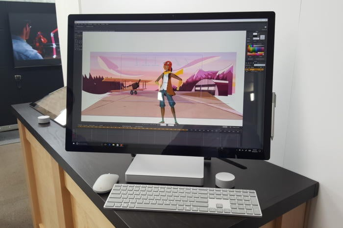 Hands-on: Microsoft's Surface Studio is a Windows PC for the Mac crowd